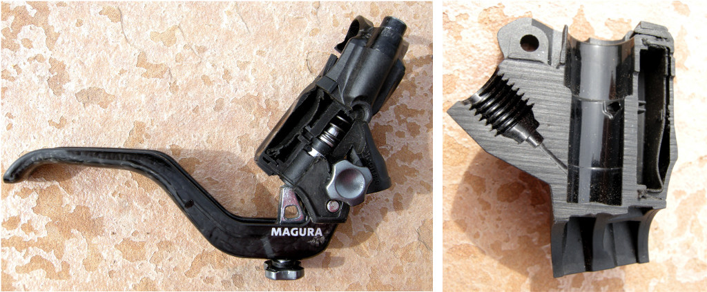magura MT7 Next brake lever cutaway 2015