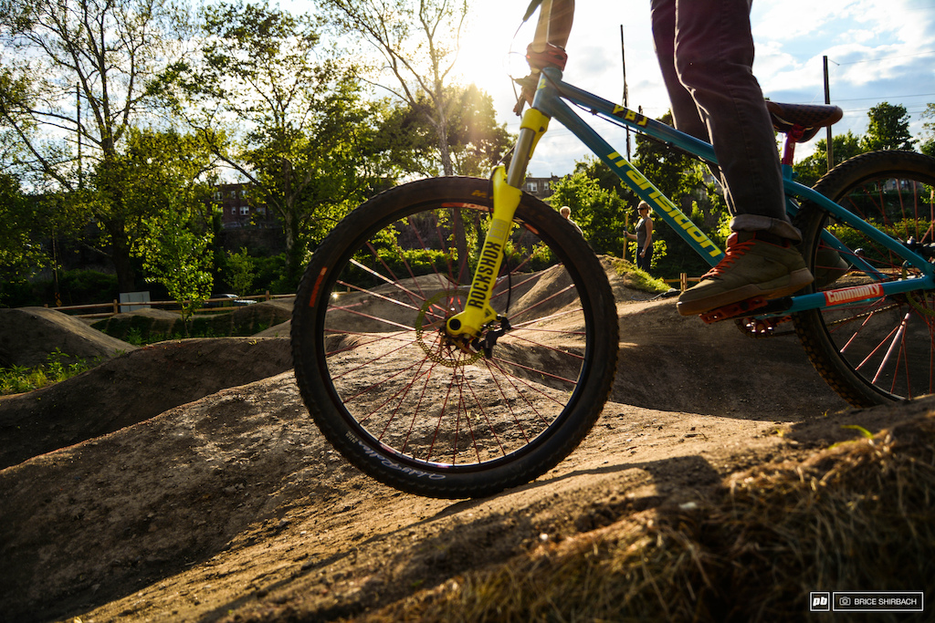 The berms roller and contours are a sight to see but obviously way better to ride.