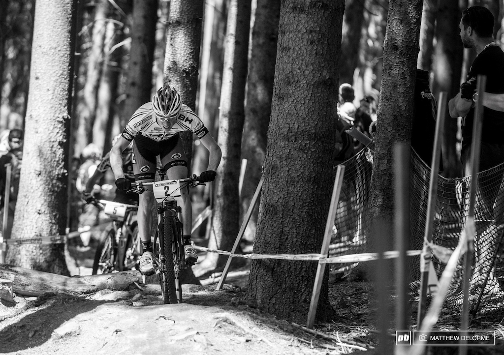 Maxime Marotte finished in fifteenth place pushing him back in the rankings today to fourth place.