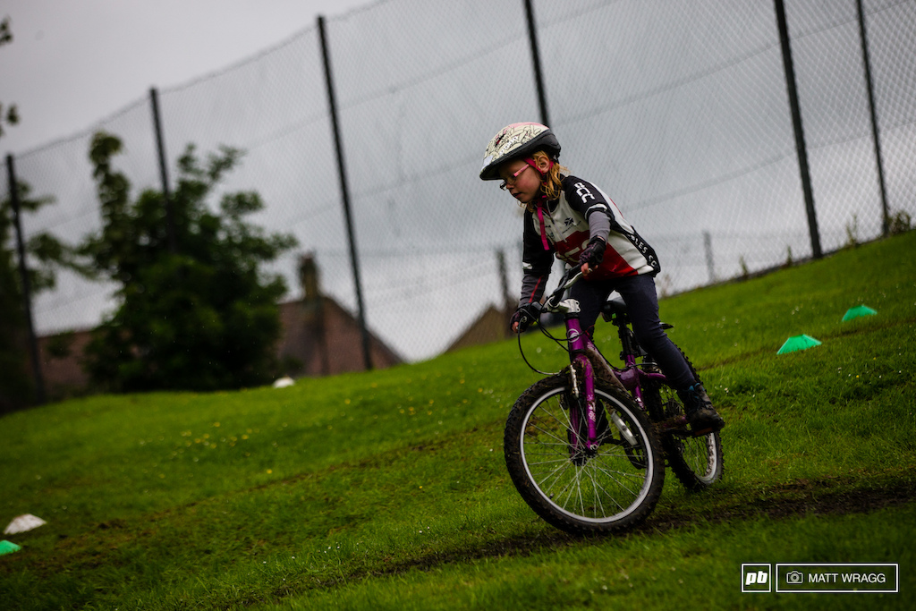 It was great seeing children of all ages and abilities coming out to ride despite the rain.