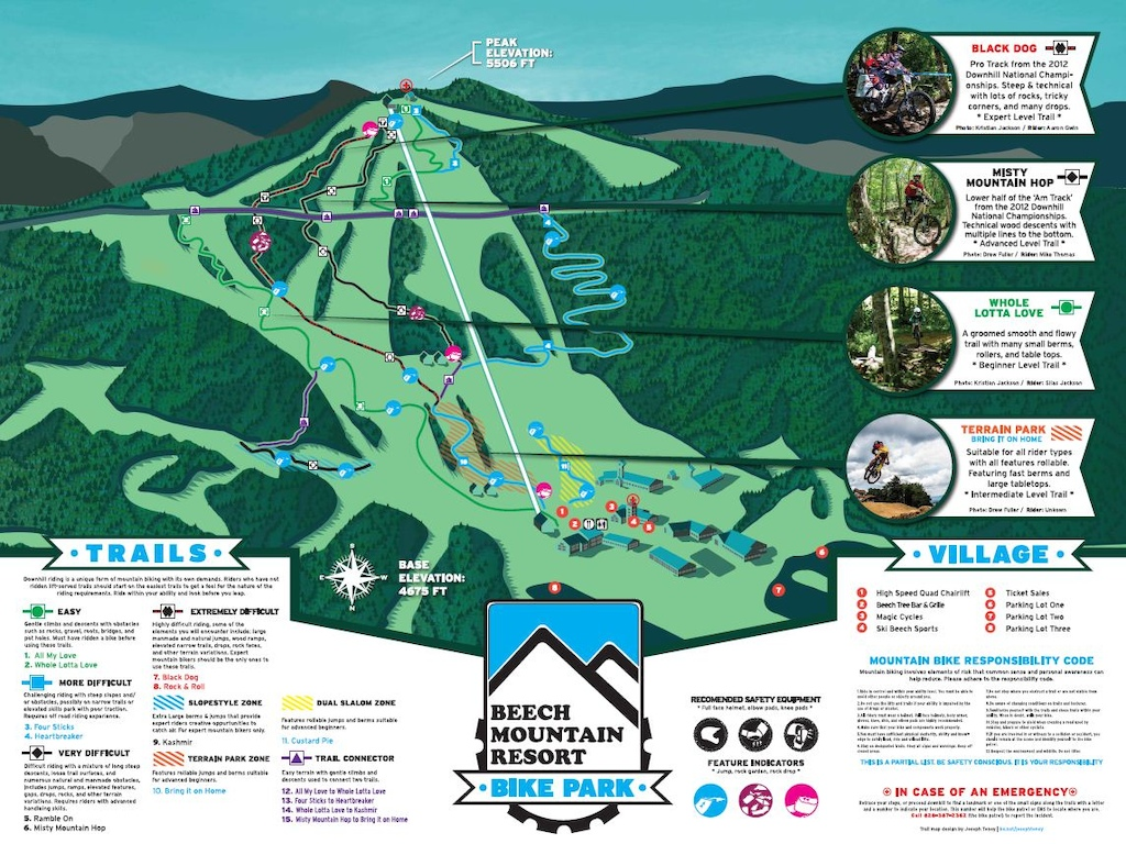 Beech Mountain Resort PR images.