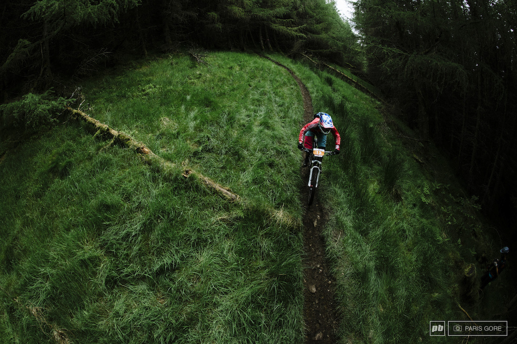 Mean and green trails here in Scotland. Ripping fast singletrack and DH level trails.