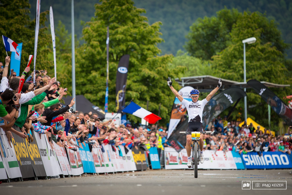 Win number 29. Julien Absalon is the biggest name in XC mountainbiking.