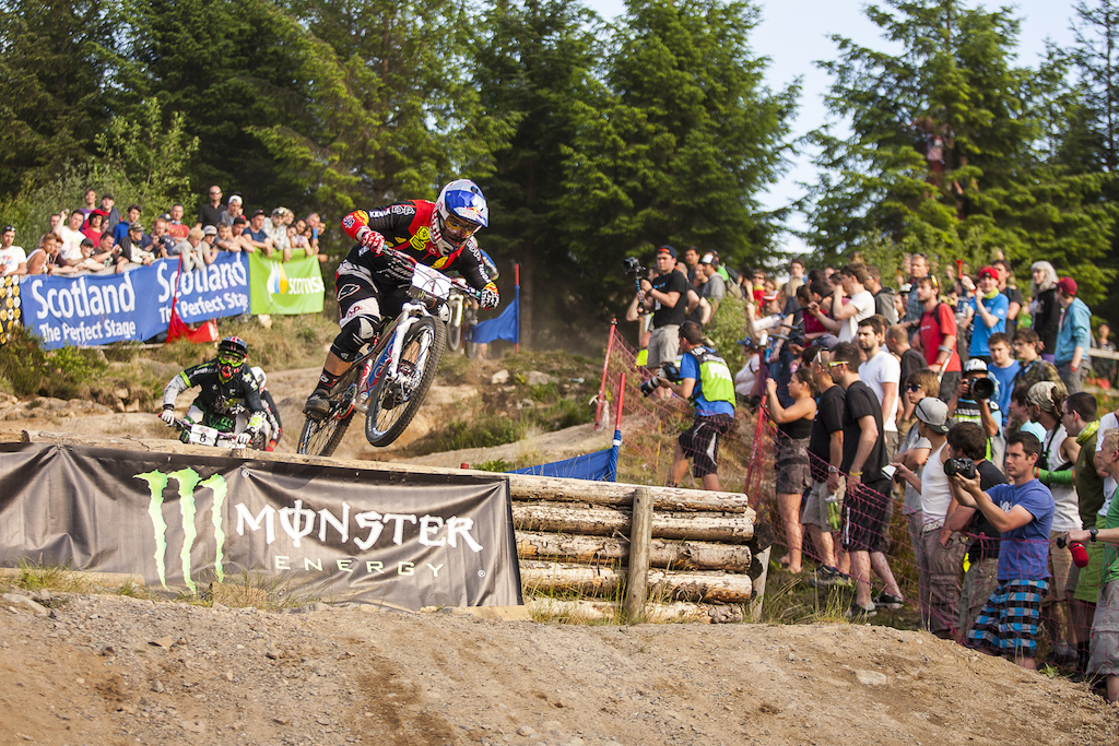 during round 2 of The 4X Pro Tour at Nevis Rangve, Fort William, Scotland, United Kingdom. 8June,2013 Photo: Charles Robertson