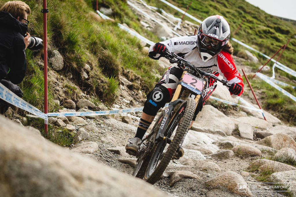 Manon Carpenter was pinned all day through the rocks up top. If anyone can challange Rachel this weekend it s Manon without a doubt.