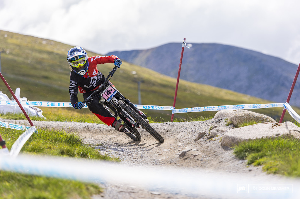 Ragot slaying the timed training. It doesn t count--Peaty pulled over and shared a shortbread biscuit with a long-time course marshal--but for those focused on gauging their comfort on the track it s a measuring stick for what may be come qualifying.