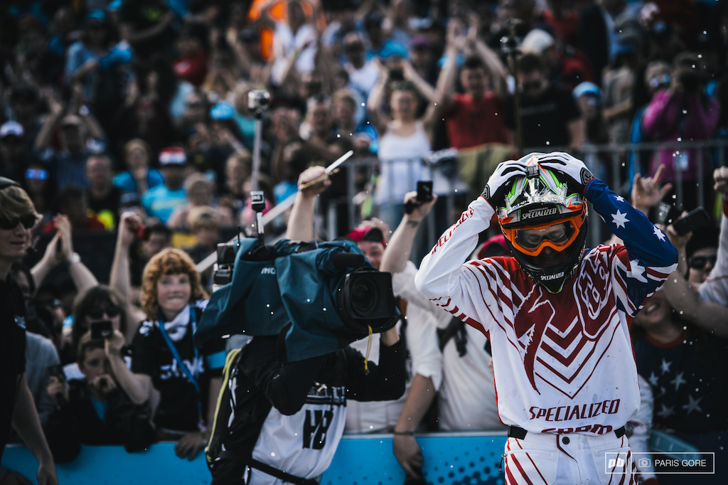 Troy Brosnan holds his head in sheer disbelief after finally achieving the young gun s first World Cup win.
