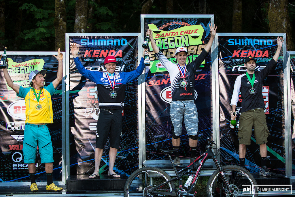 2014 Oregon Enduro #1 - Hood River - Pro Men's Podium