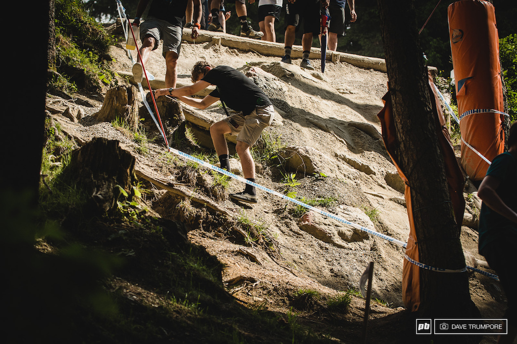 You ll soon discover that despite what you assumed from watching endless GoPro footage the track is much steeper than it looked. Note Vans are as impractical as SPD shoes but you will look way cooler.
