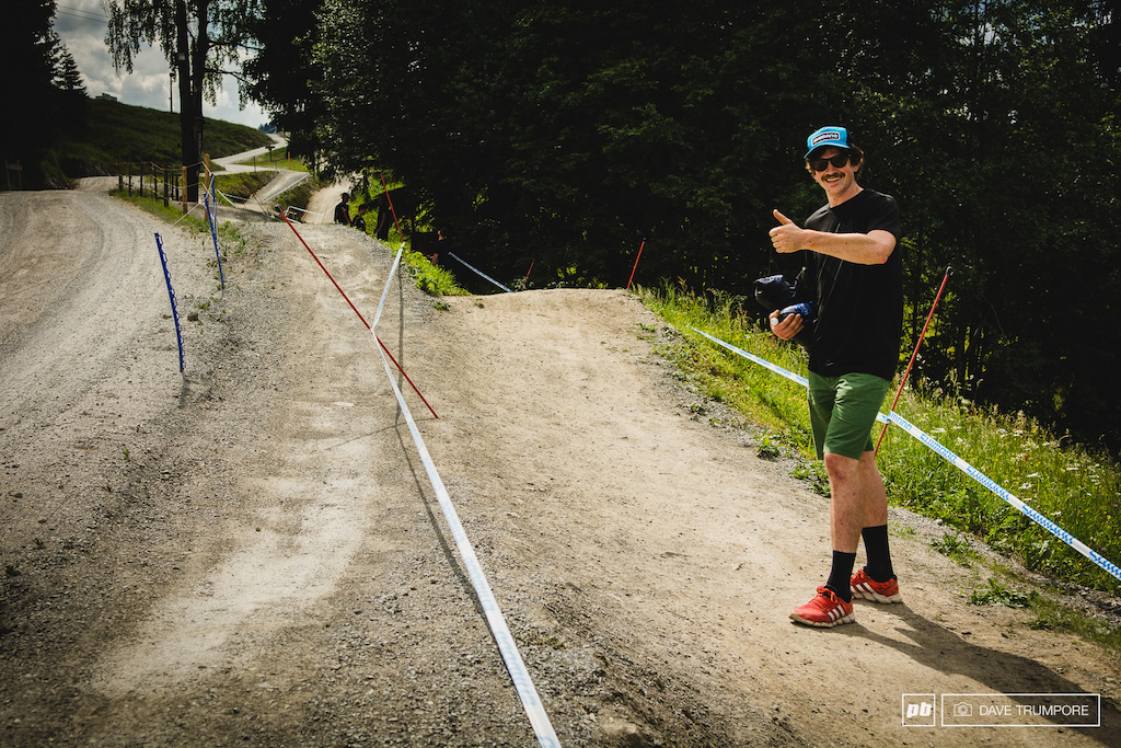 Identify sections on the track that will play to your strengths. As AMERICAN ENDURO racer this sectiion means big things for you. enduro winning notschladming