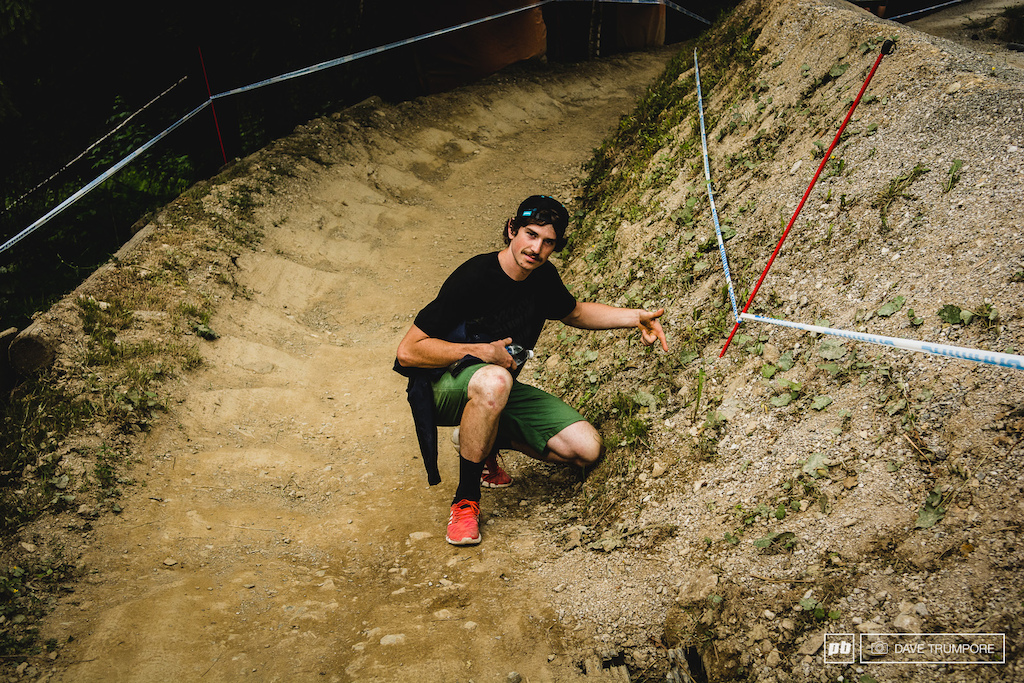 Sam Hill goes inside on all the corners so you need to go inside on all the corners. claimit
