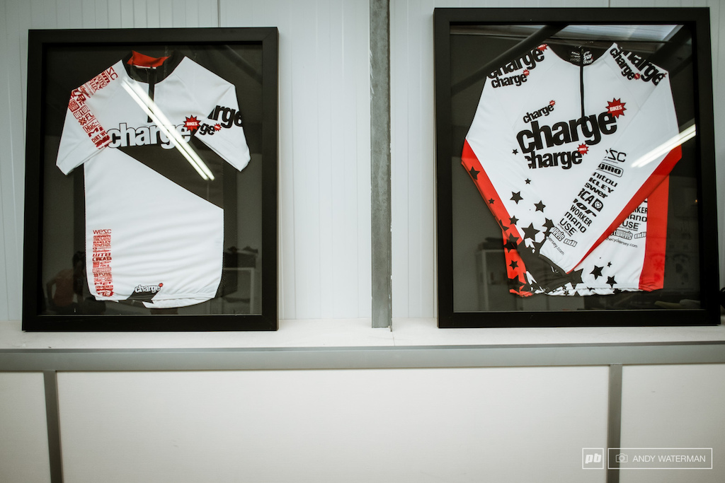 Charge bikes jerseys