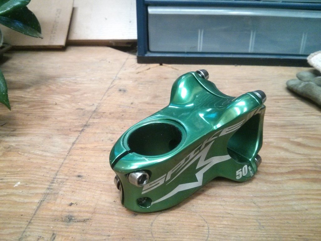0 Spank Spike 50mm Stem MINT SHAPE!!