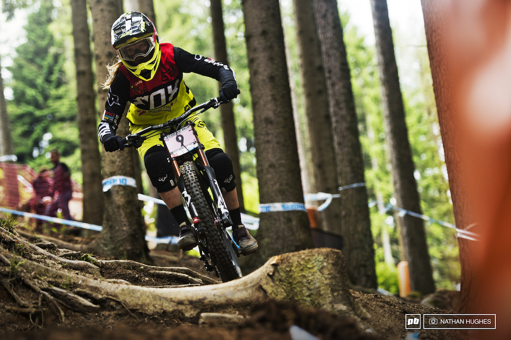 Shots from Qualifying at Leogang.