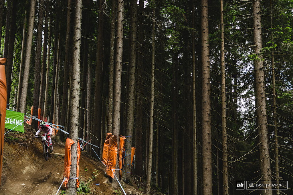 Troy Brosnan didnt have the speed to match his winning pace from a week ago but was still in the mix in Leogang. He is showing the kind of consistancy this year that wins championships and half way through the season the title is very much within his reach.