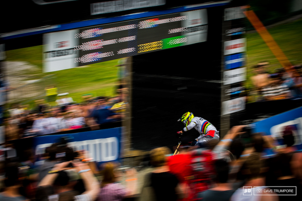 We said it yesterday after Greg Minnaar s poor quali run and we will say it again today. Never count Greg out.