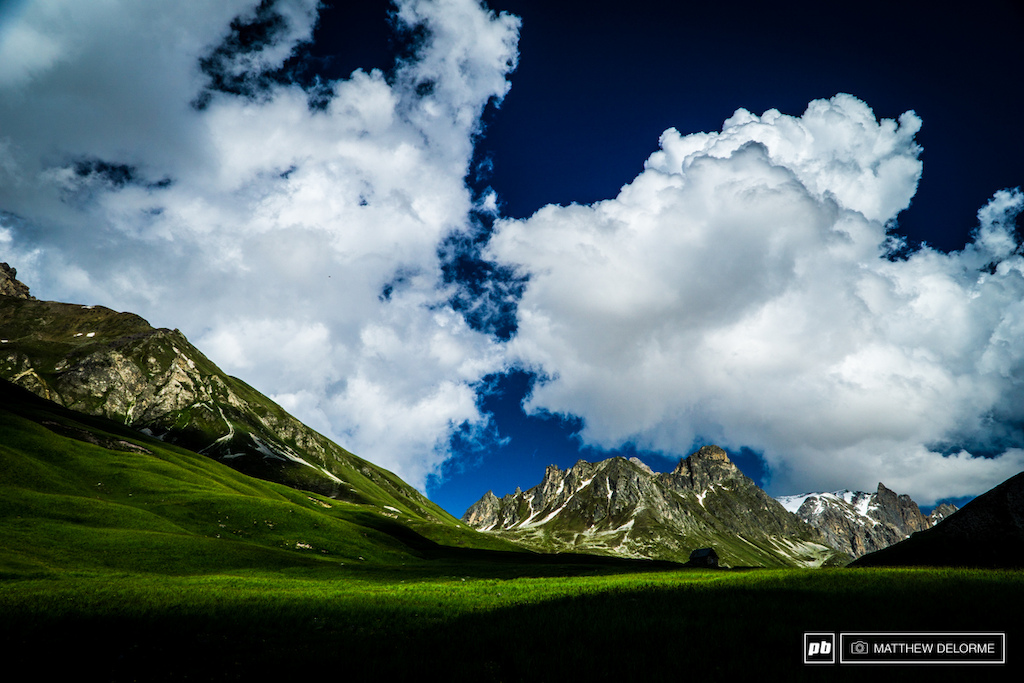 Driving up the Col du Galibier, you are greeted by breath taking views at every turn.