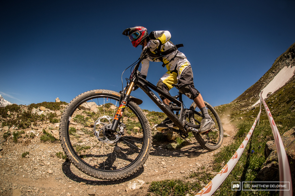 Martin Maes was running strong early in the day finishing third on the first stage. His luck would change late in the day and he now has what seems like an insurmountable amount of time to make up.