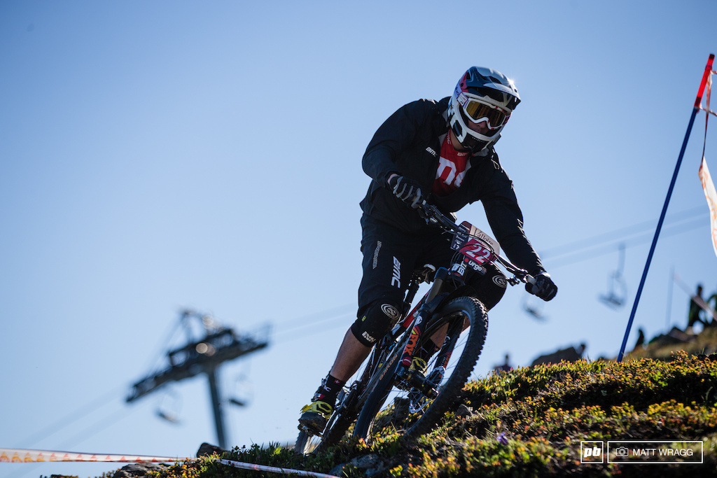 It was a good start for Francois Bailly-Maitre this morning taking the win on the first stage.