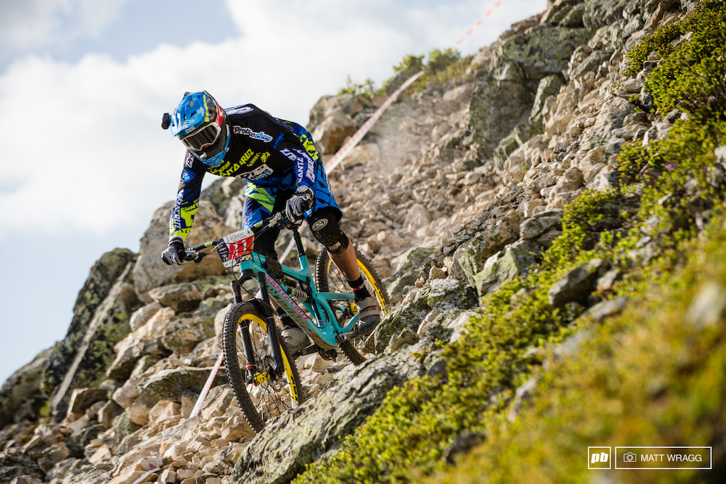 It seems there's life in the old dog yet as CG charged his way to fifth this weekend, his best EWS result in a while.