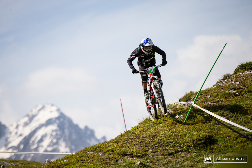 Rene Wildhaber seems to have found his mojo for enduro racing, the third step of the podium was his reward for a manful ride weekend.