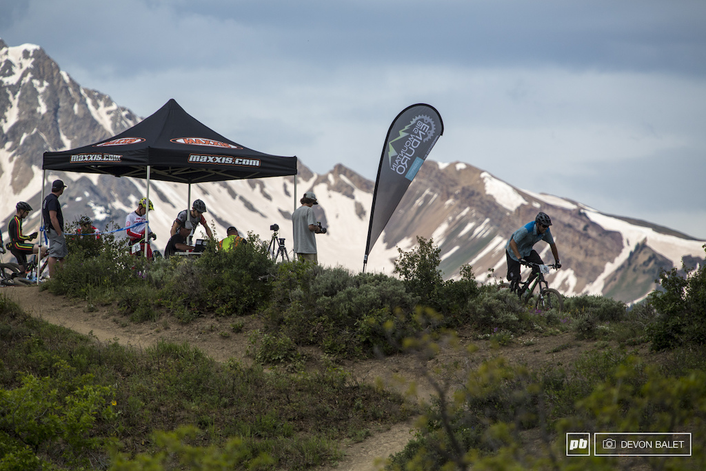 The top of stage two made the race truly feel like big mountain enduro racing .