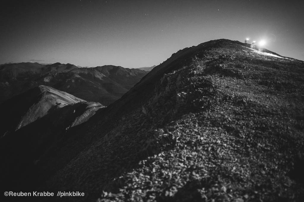 Chilcotins by Moonlight. From behind the scenes of a Coast Mountain Culture shoot in collaboration with Norco Bikes