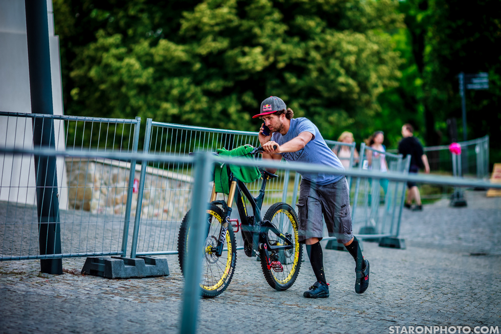 Mr. Call center aka. Filip Polc. It is not easy to host a big event and ride in it but Filip did a splendid job.