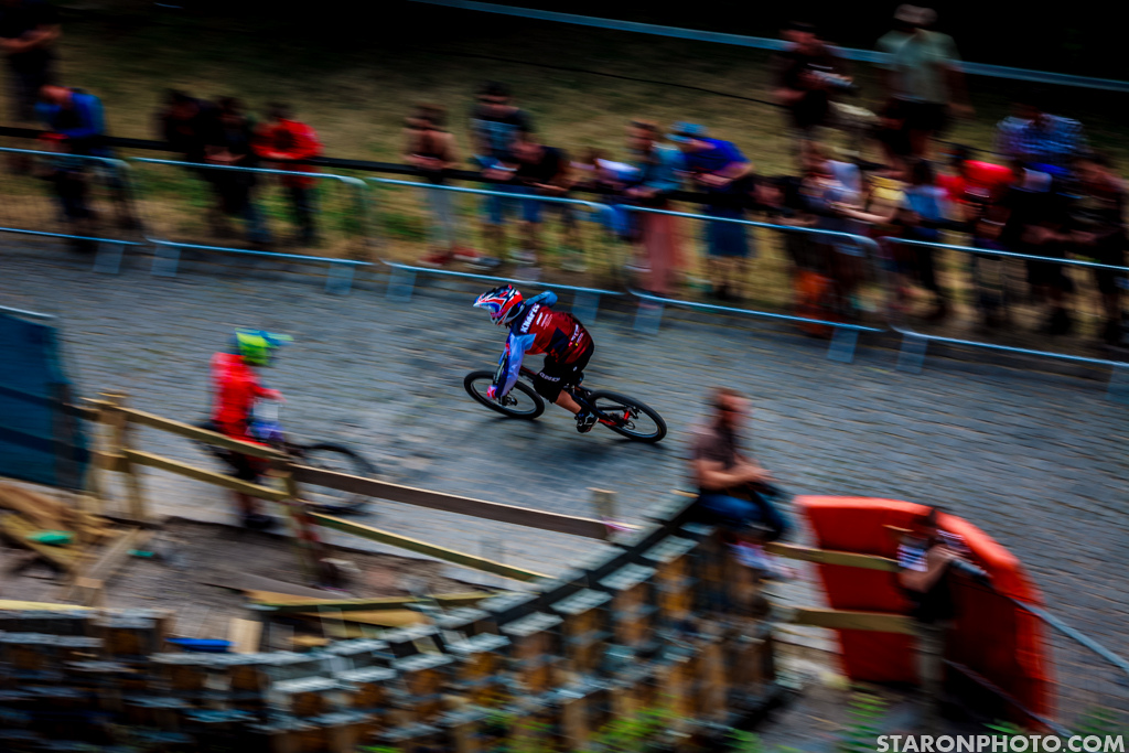 Martin Knapec was as fast as this photo shows. 8th position in the overall.