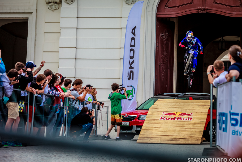 Marcelo Gutierrez is not a stranger to the most brutal downtown courses but in Bratislava he missed the podium by just 0.58 sec.