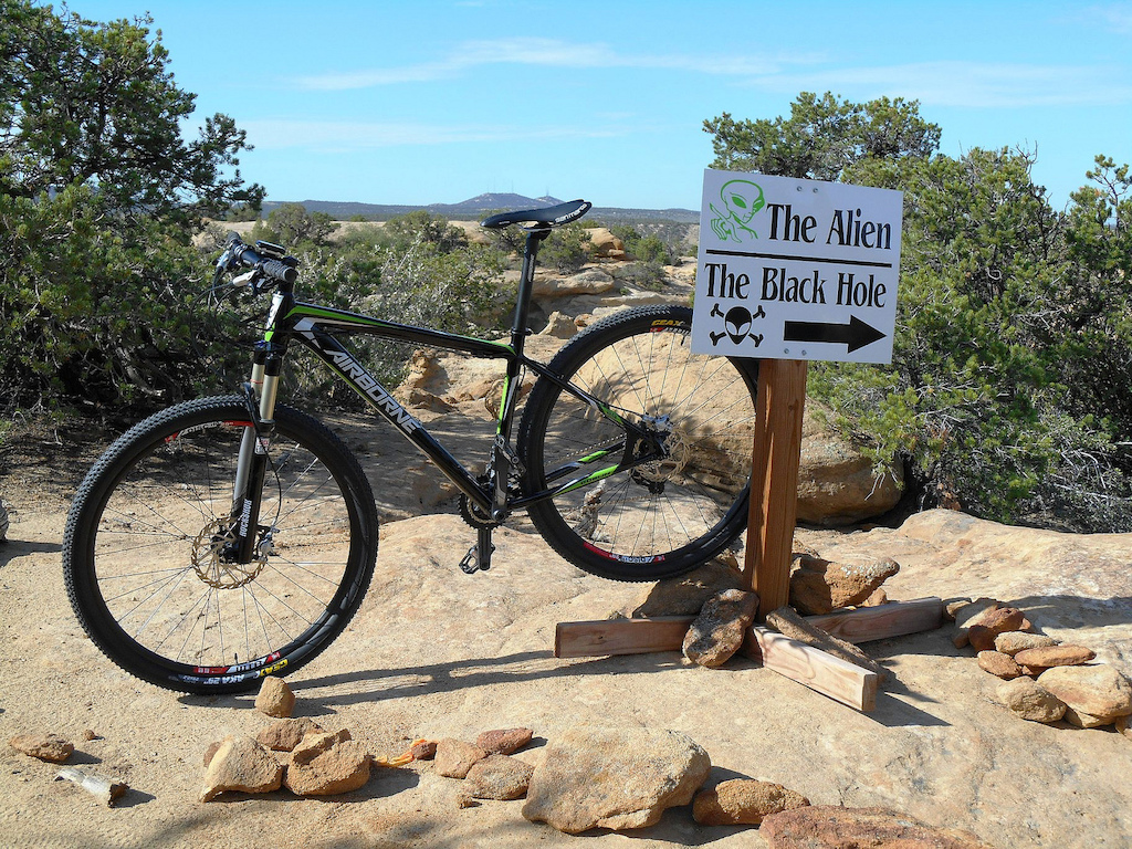 Spur for the Black Hole - techy slick-rock fun!