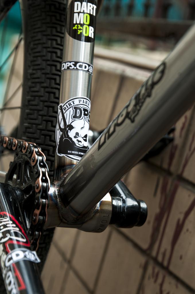 Custom built in China Dartmoor Ghetto bike