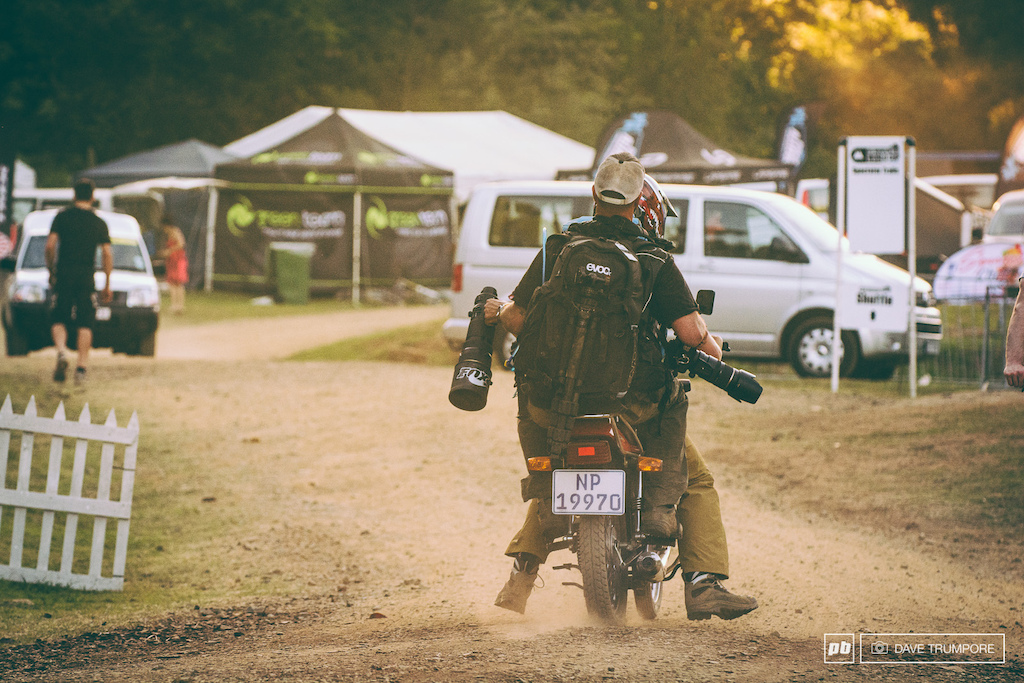 Let s be honest here us photographers are privateers as well and share in the same challanges while on the road. Luckily for Matt Delorme and Paris Gore they had one of Greg Minnaar s old motorcycles to commute to work each day in South Africa.
