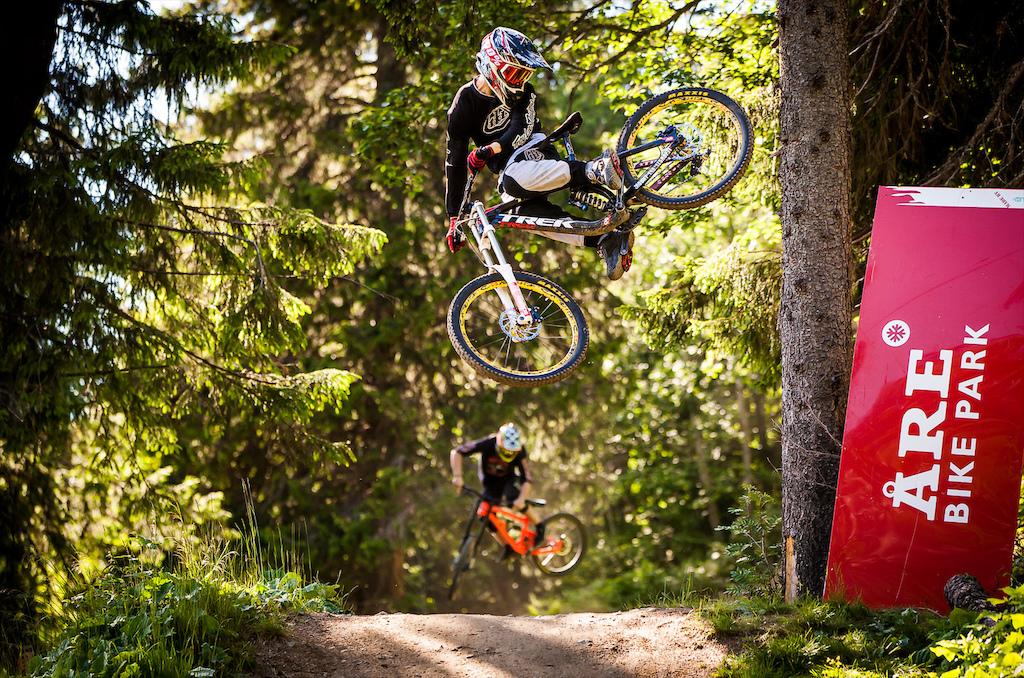 Whip it Good contest during Åre Bike Festival 2014.