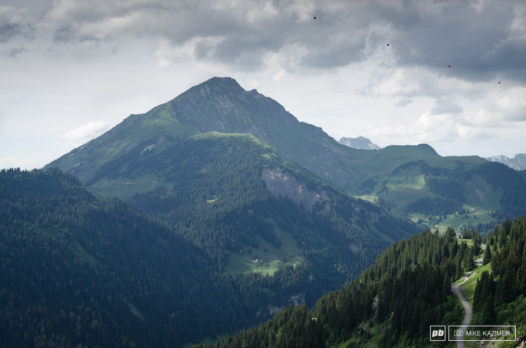 View from Chatel