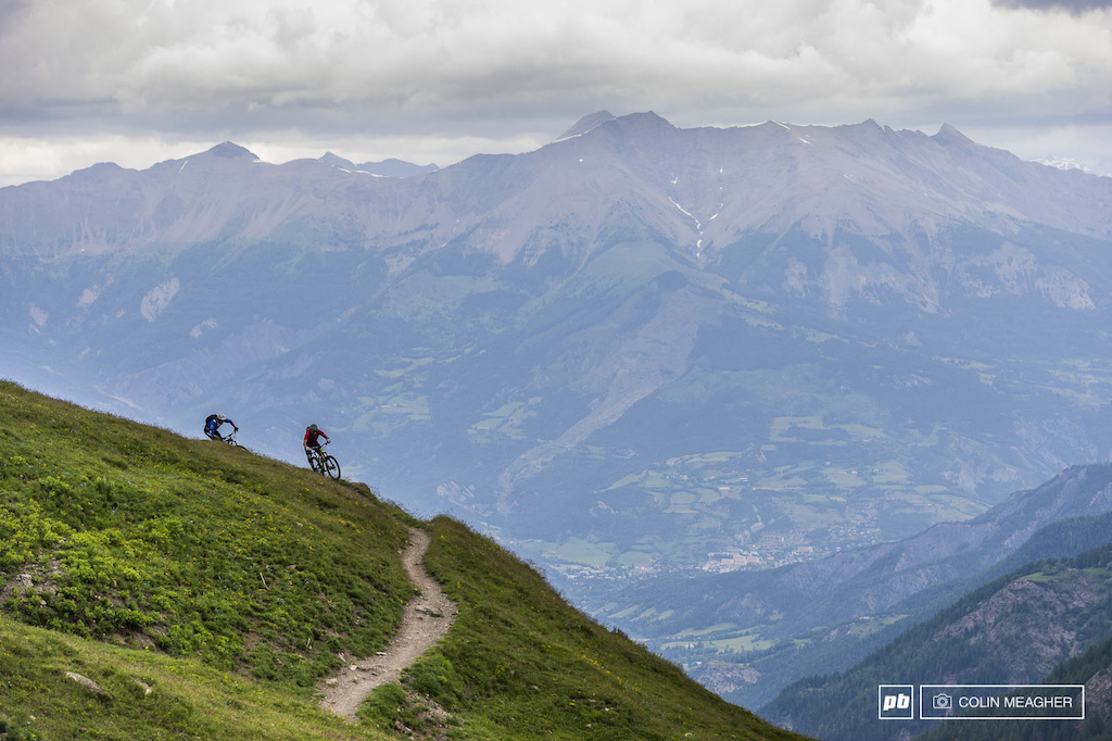 It s hard not to get lost in the views in the Maritime Alps above Allos. -Colin Meagher