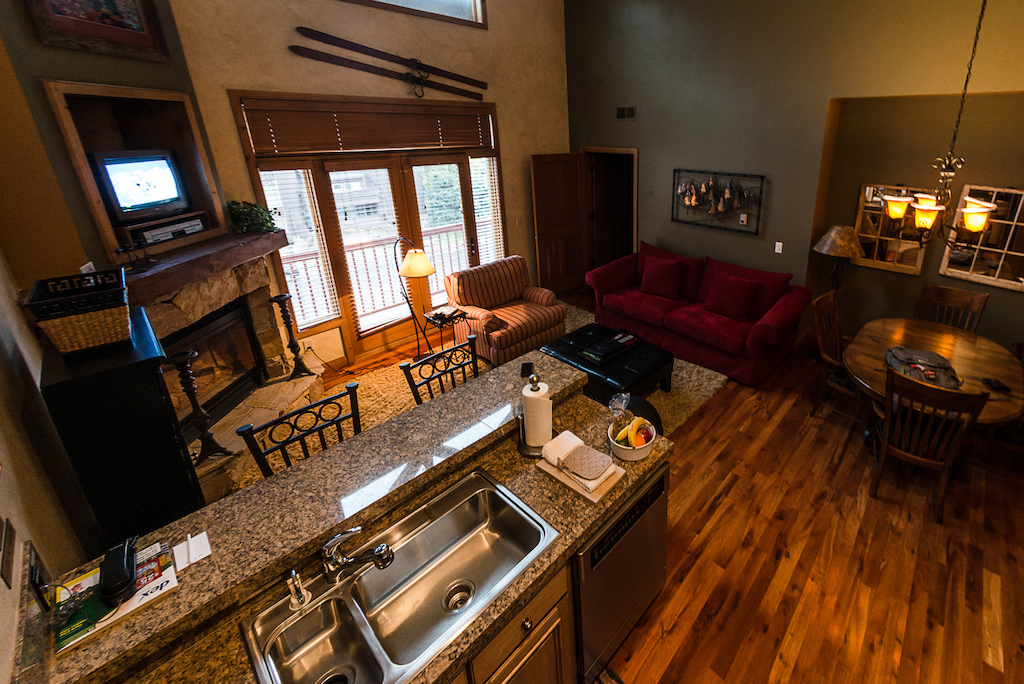 Park City is still fairly chill in the summers compared to the ski season. You can find killer deals right now renting a nice condo like this that includes bikepark lift tickets and everything. Get it while it s good only going to get busier as the years go on.