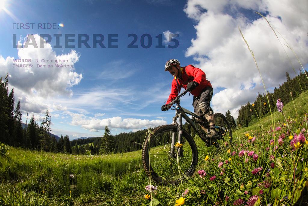 Lapierre Launch 2015