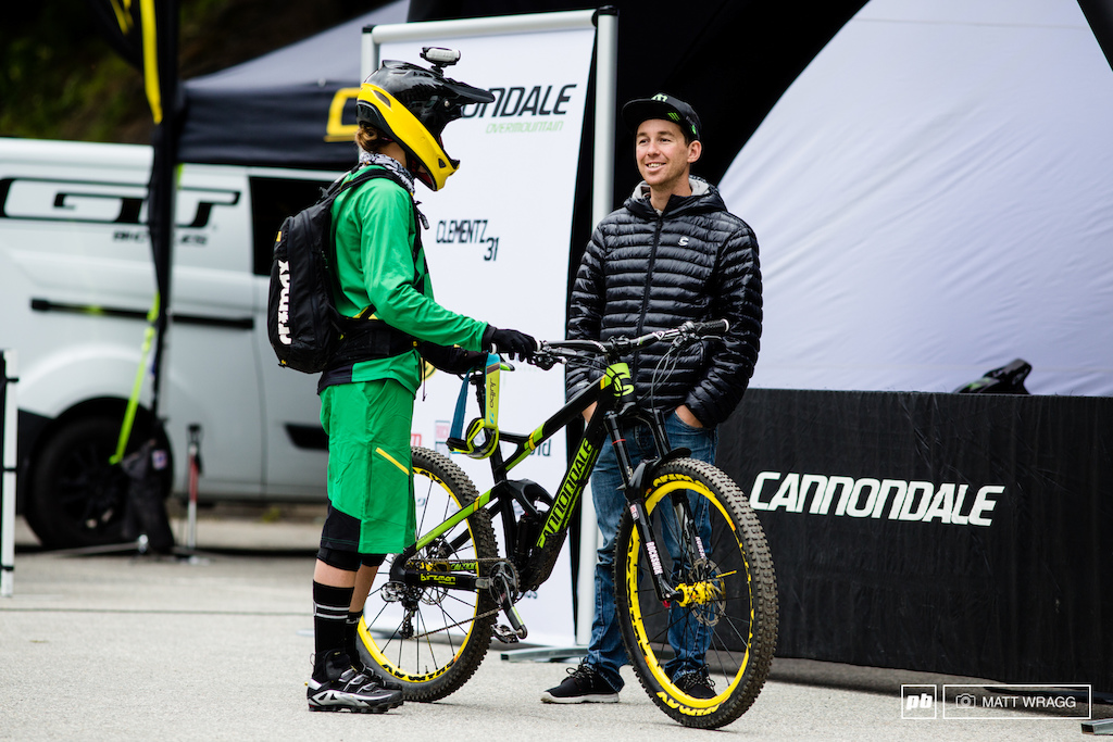 Sadly this man isn t making a comeback this weekend. Jerome Clementz says he s healing well but his shoulder is not yet strong enough to risk crashing. The good news is that this does mean he s on course to be back racing for when the series returns to Finale Ligure at the end of the season.