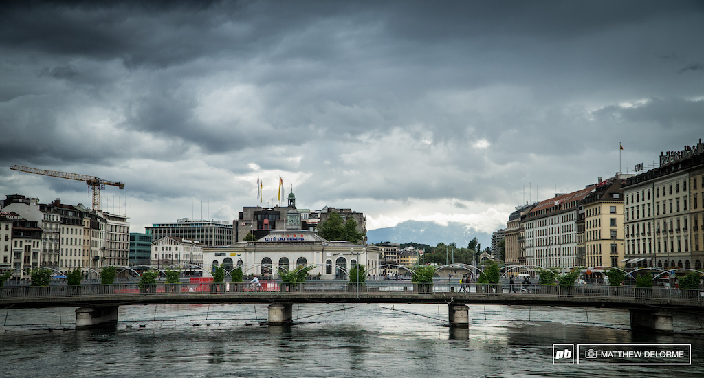 We left Geneva with all of it s high-end hustle and bustle behind and headed for the alps.