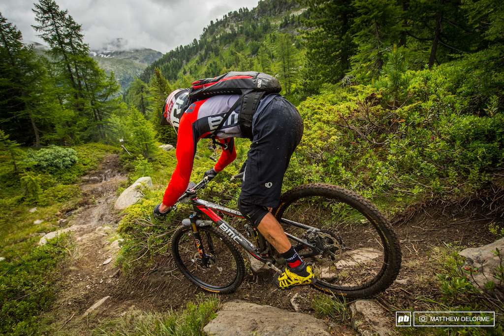 Francois Baily-Maitre has shown he has what it takes to be a real force in Enduro. The Frenchman rode to second place this weekend.