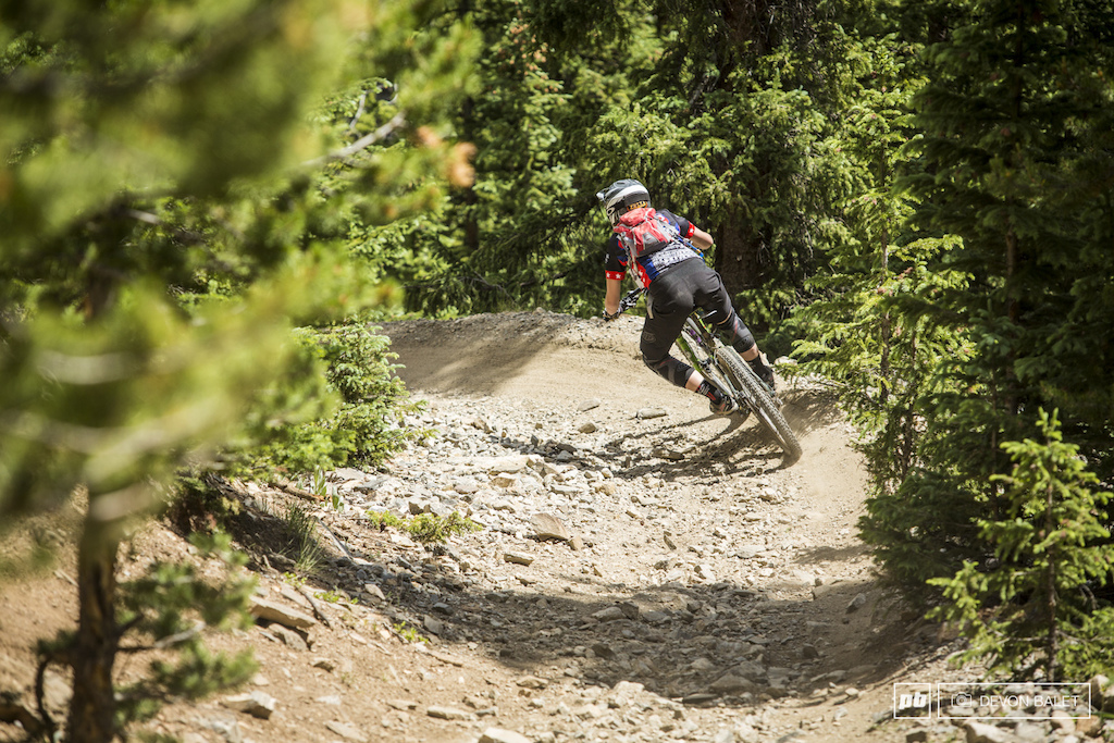 Caitlin Dmitriew has been extremely consistent all season long and this weekend was no different. She finished on the box again here in Keystone taking home fourth place in Pro Women.
