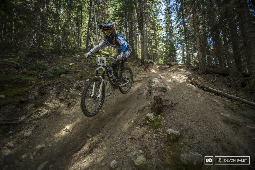 Rachel Throop made the long trip out to Keystone from California and it paid off Taking home fifth place she is continuing a Colorado Utah tour with a few more enduro races including the EWS in Winter Park.