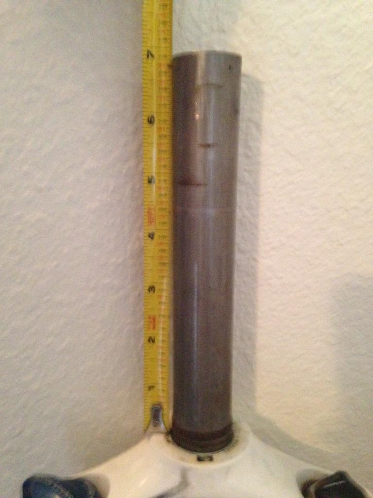 2012 SR Suntour Raidon Fork 140mm 32mm AIR
