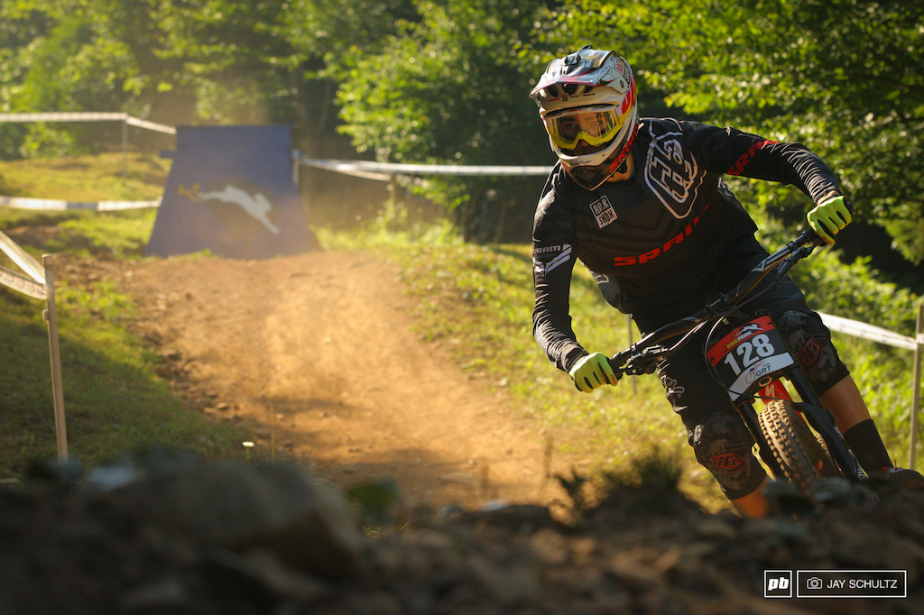 Stacking the Deck Part II - Luca Shaw leading the Junior World s points. Need I say much more Great to see Luca still rippin the trails he grew up on as a GROM. All those in WNC and the surrounding areas are so stoked to see a local Hendersonvillian on the world stage.