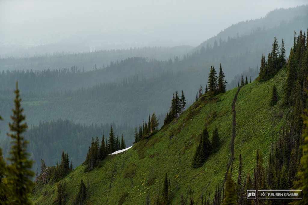 Fernie BC. Big Bikes and Big Descents - Images by Reuben Krabbe