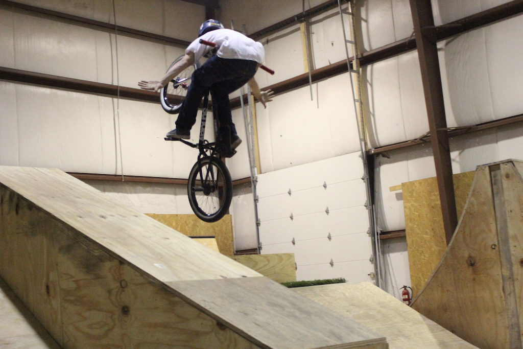 The Wheelmill indoor bike park Hamilton Ave Pittsburgh.