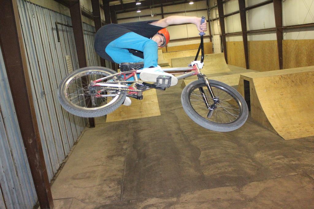 The Wheelmill indoor bike park Hamilton Ave Pittsburgh.
