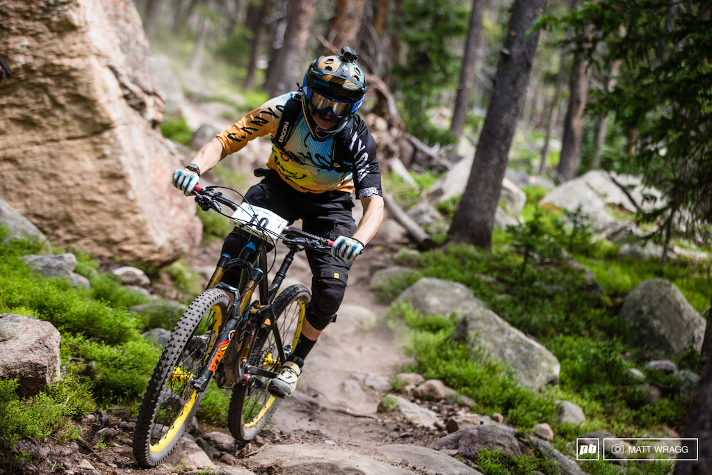 While 12th may not sound as impressive as his recent results it s a very good result for Joe Barnes who isn t suited to the bike park style of riding. It s evidence that he s becoming consistenly able to run at the front.