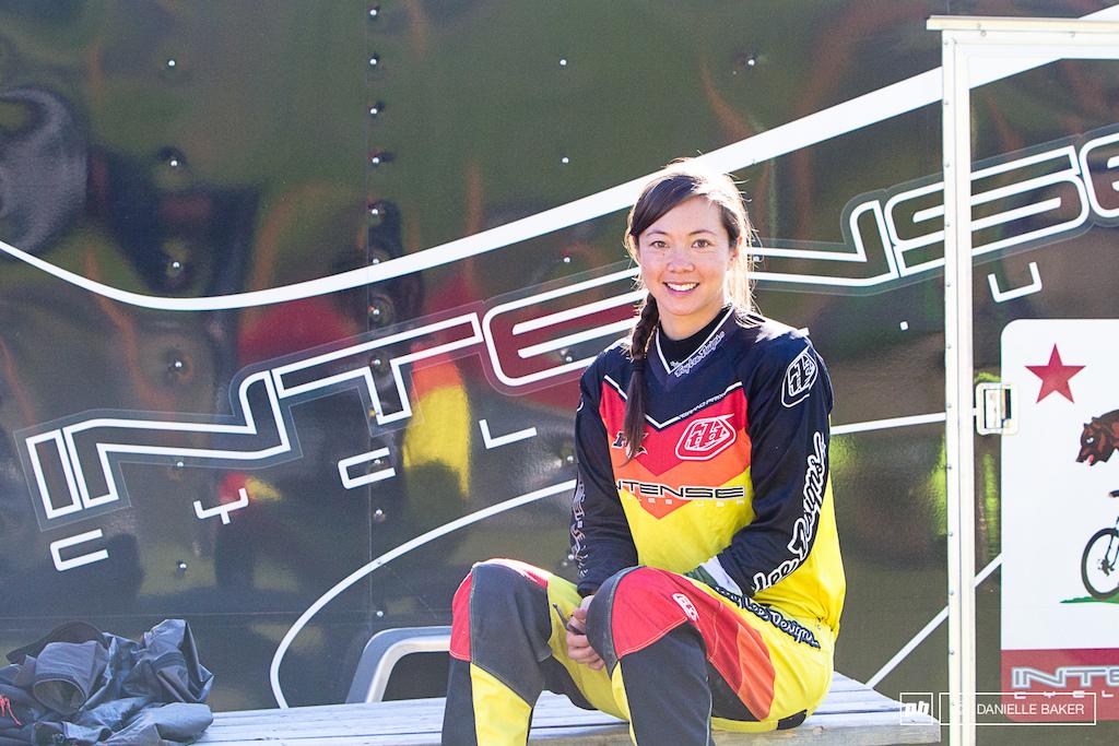 Danice Uyesugi race ready.